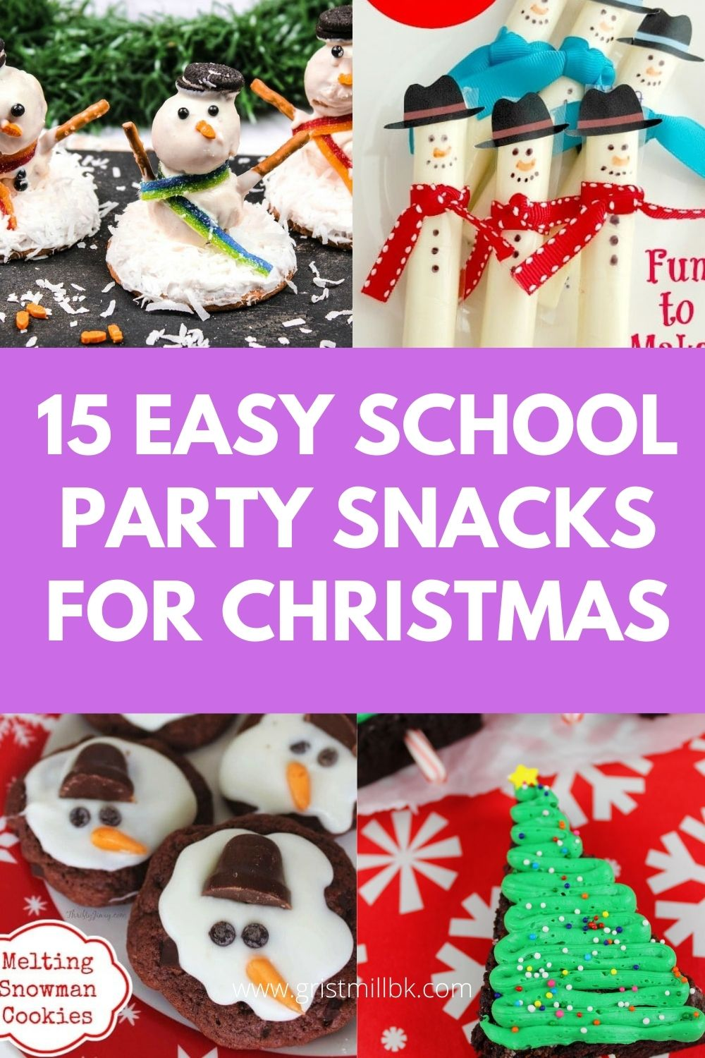 15 easy school party snacks for christmas
