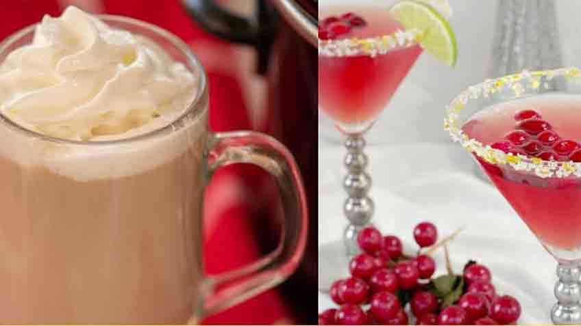 the best non alcoholic christmas drinks