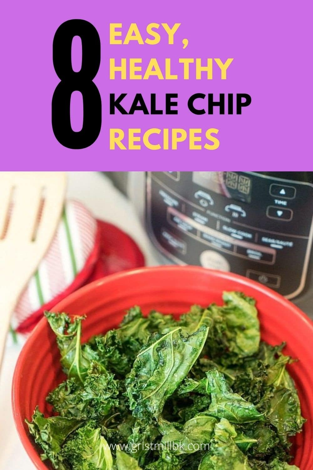 easy, healthy kale chip recipes